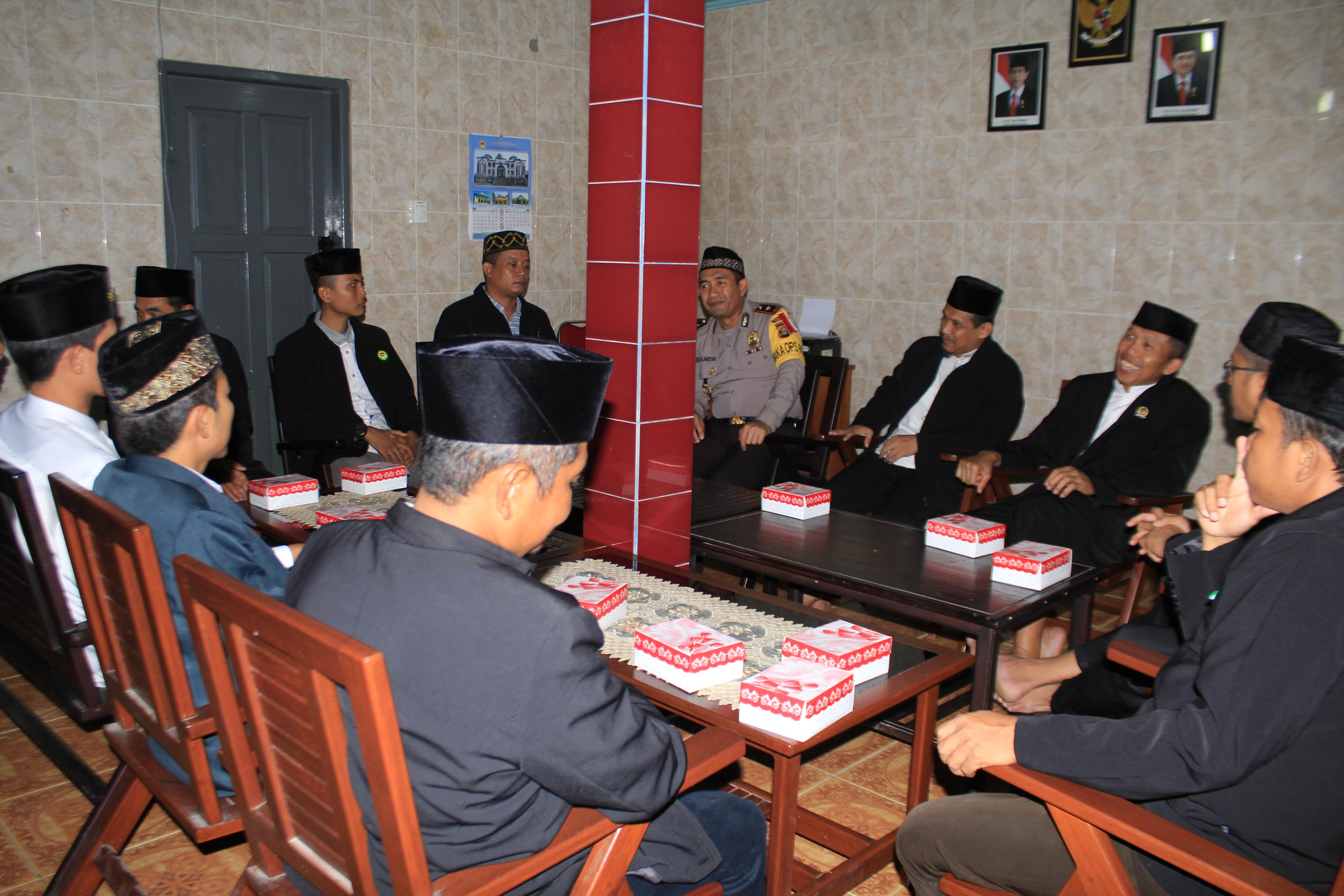 Pererat Silaturahim Antar Ormas dan Polisi, Wakapolres Kunjungi Sekretariat DPD LDII Bontang