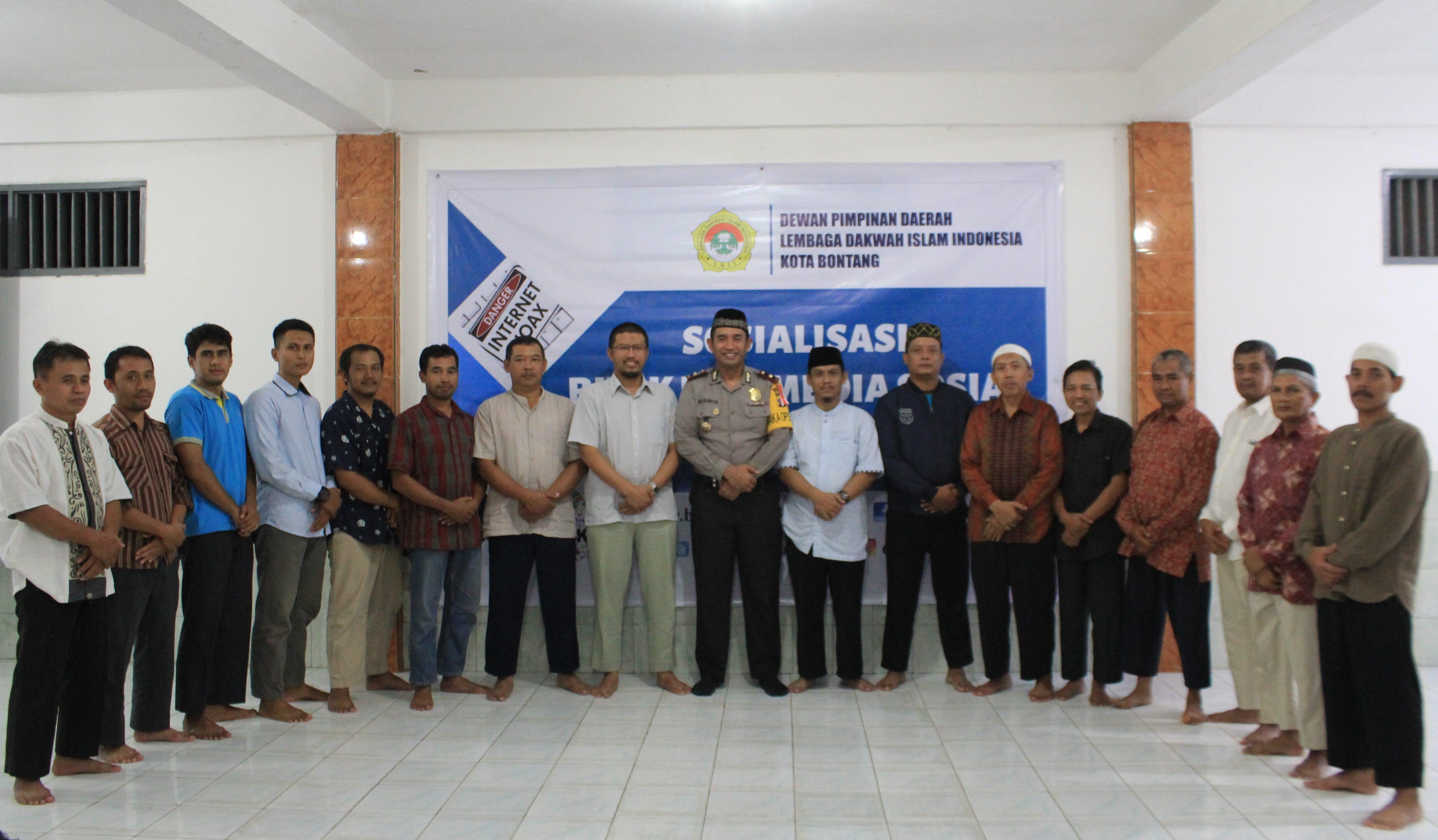 Tangkal Hoax, LDII Kota Bontang Bekali Pengurus Bijak Ber-Media Sosial