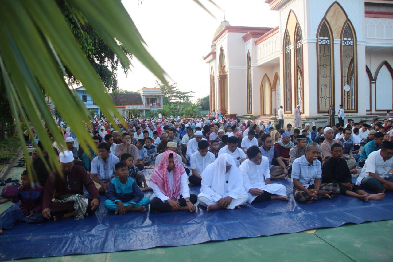 """LDII Gelar Sholat Idul Fitri 1439 H """"Rayakan Kemenangan, Eratkan Tali Silaturahim"""""""