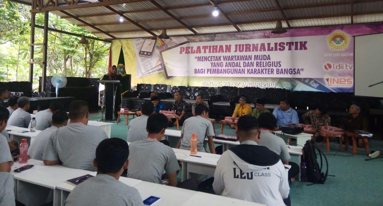 LDII Cetak Wartawan Muda dengan Pelatihan Jurnalistik
