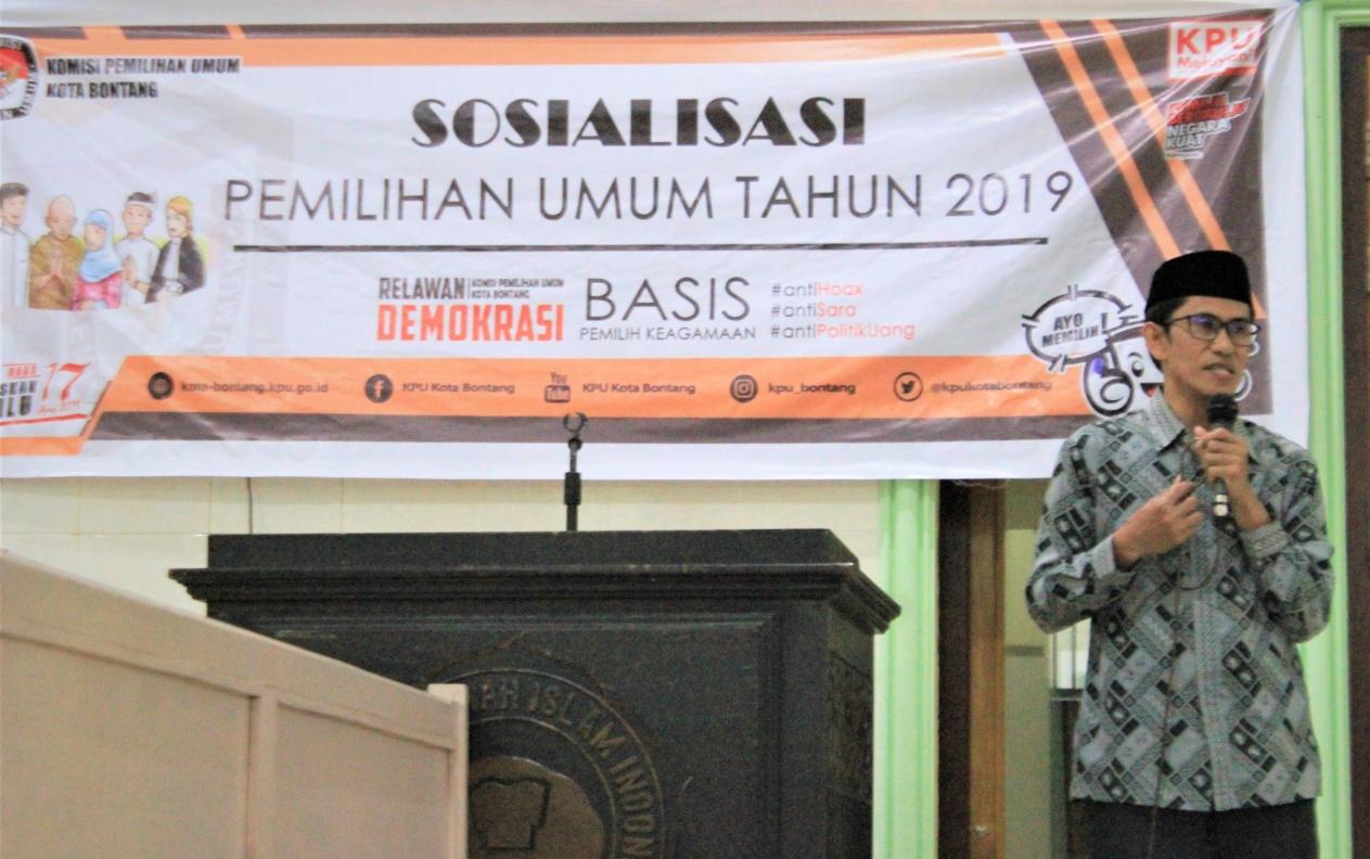 Hadir di Pengajian LDII, KPU Sosialisasikan Pemilu Tahun 2019