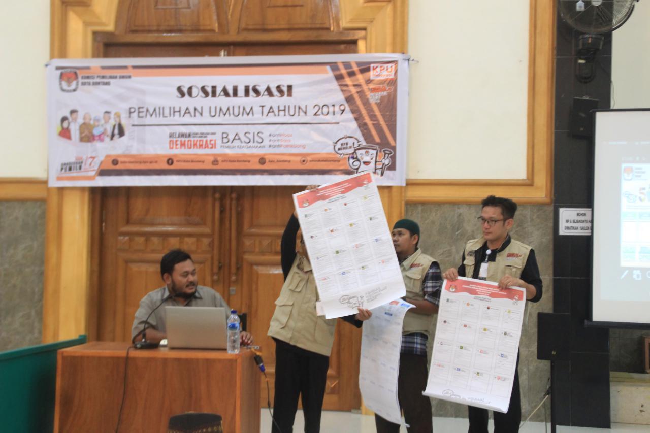 Cegah Golput, KPU Sosialisasikan Pemilu
